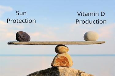 The Vitamin D Production vs Sun Protection Balance